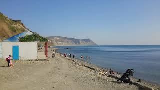 Анапа. Пляж высокого берега. Открытие купального сезона. Пора загорать