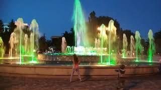 Поющий фонтан в Анапе.