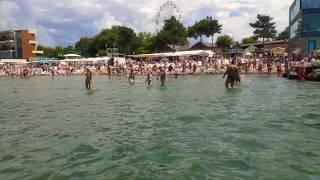 Анапа сегодня 7 августа 2019 г. в среду. Спокойное теплое море, приятная погода на Центральном пляже