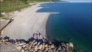 Исчезающие пляжи Лазаревского района Аше-Лазаревское