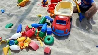 Джемете. 9 июня 2018г. .Белый пляж.Детская площадка