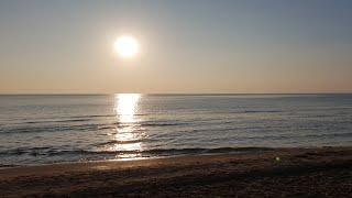 Закат #АНАПА Пляж Золотые Пески 18.10.2018