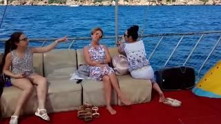 Прогулка на яхте в Анталии 28.05.2018