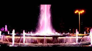 Поющие фонтаны. Анапа.