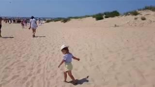 Витязево 31 июля 2019 года. Народу очень много. Шикарный пляж.