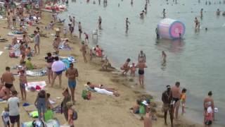 Тёплое море Анапы сегодня 14.07.2017, Центр. пляж