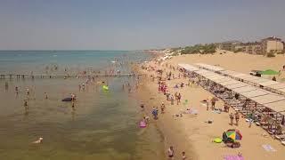 Пляжи Анапы в Джемете от Юности